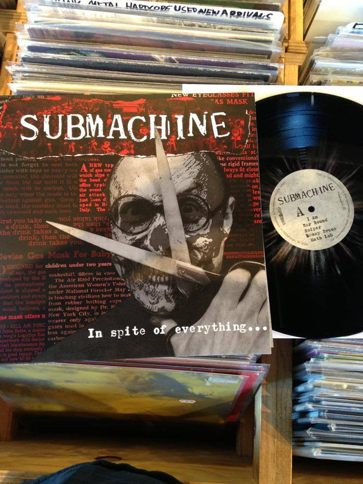 Submachine's 'In Spite of Everything' Record Art